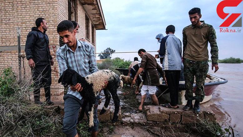 تخلیه 5 روستای جنوب کرمان/ بارش های سیل آسا شدت گرفت
