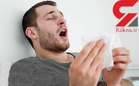 ۷ نشانه انواع آلرژی