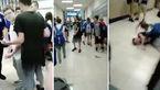 پایان تلخ قلدری کردن برای جوان دبیرستانی! / این 26 ثانیه 100 هزار بار دیده شد +فیلم