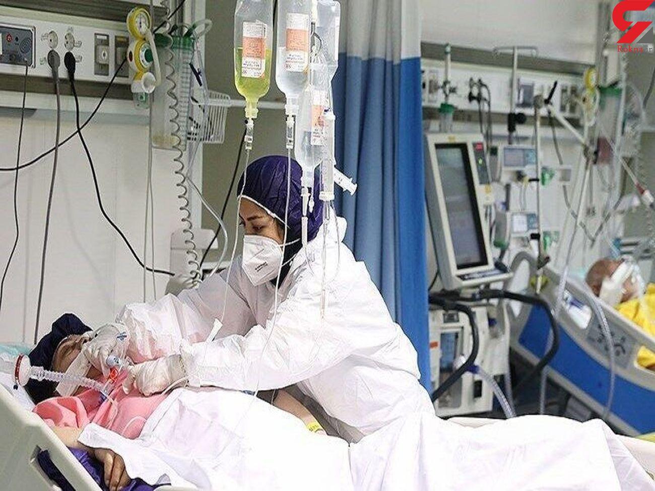 بستری نزدیک به ۴۰۰ بیمار کرونا در یزد