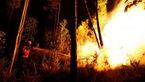 بزرگترین آتشسوزی کالیفرنیا تا پایان ماه مهار نخواهد شد