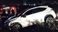 6 عکس از تصادف خونین لکسوس با خودروها / در بزرگراه چمران رخ داد