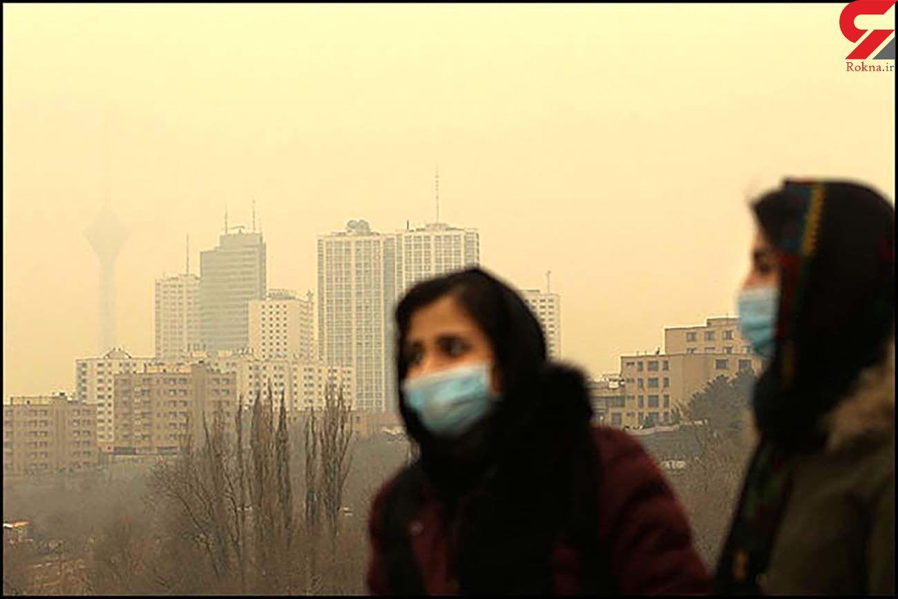 میزان تاثیر احتمالی آلودگی هوا بر مرگومیر کرونا
