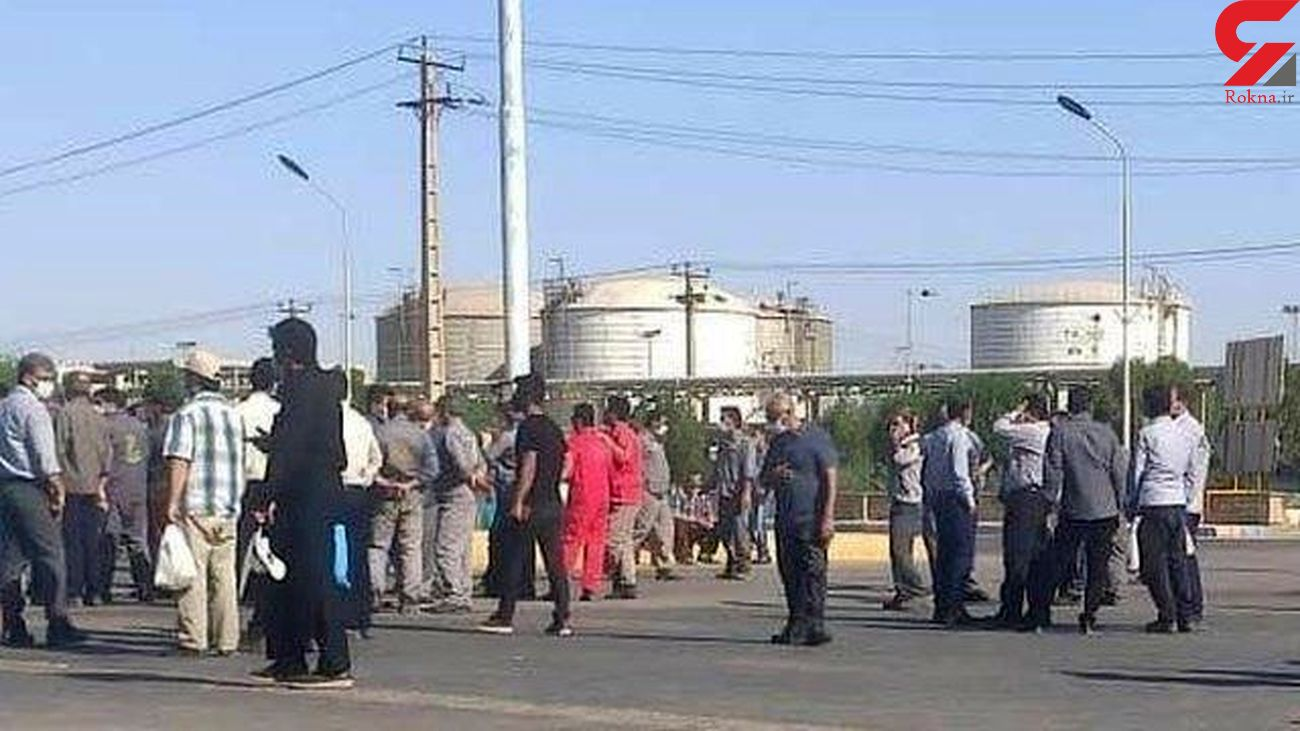 علت و ابعاد اعتراض کارگران پارس جنوبی / کارگر سعی می کند تا زیر خط فقر زنده بماند
