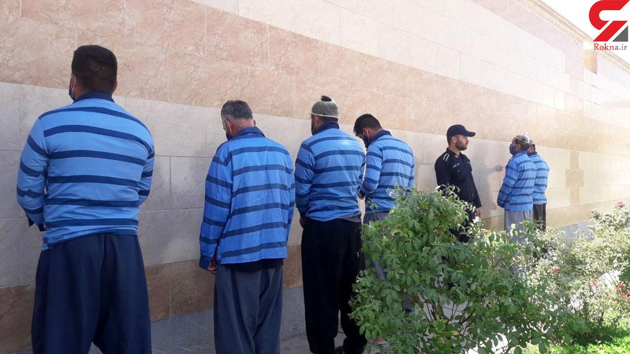 انهدام باند 8 نفره سارقان خشن در نجف آباد