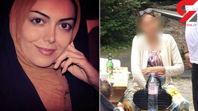 تصاویر لو رفته بدون حجاب آزاده نامداری در سوئیس +عکس و فیلم