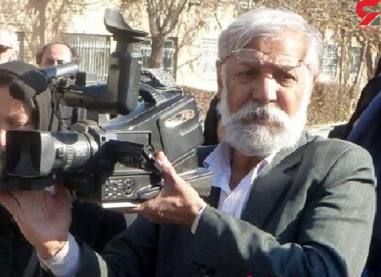 فرامرز امینی مجری برنامه تلویزیونی بر اثر کرونا درگذشت + عکس