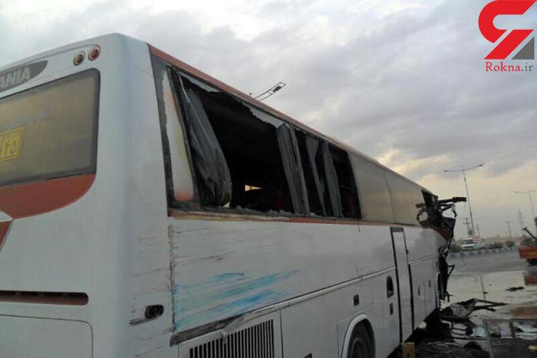 42 کشته و زخمی در تصادف مرگبار اتوبوس و سمند در زنجان