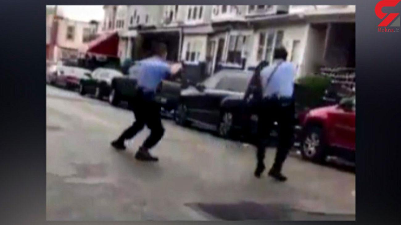 کشتن یک جوان ۲۷ ساله مقابل چشمان همسرش توسط پلیس آمریکا + فیلم