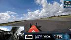 فرار از مرگ در سرعت ۴۸۳ کیلومتر در ساعت با ماشین مسابقه ای+ فیلم