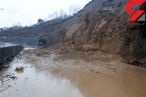 ریزش کوه محور تویهدروار-سه راهی فولاد محله را مسدود شد