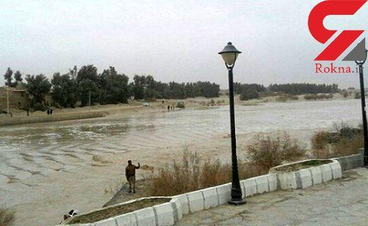 هشدار سیل برای سیستان و بلوچستان / سیلاب به هامون صابوری رسید +عکس وفیلم