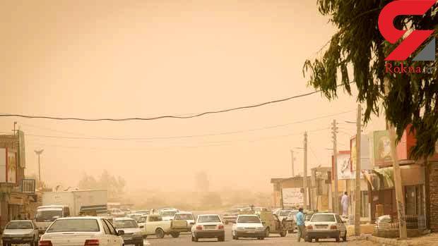 وزش باد شدید با سرعت ۱۰۱ کیلومتر بر ساعت در زابل