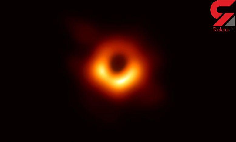 انتشار تصویر یک سیاهچاله برای نخستینبار در تاریخ