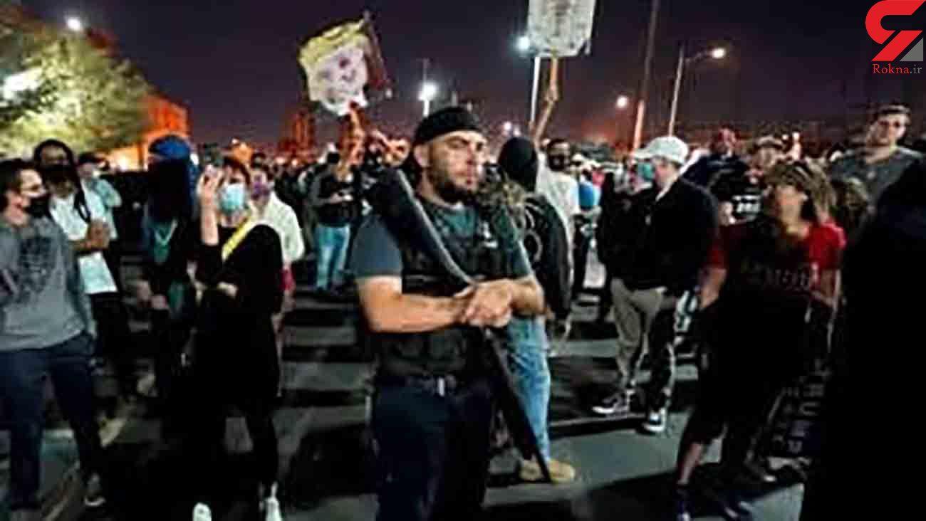 نا آرامی در آریزونا و میشیگان بخاطر انتخابات آمریکا
