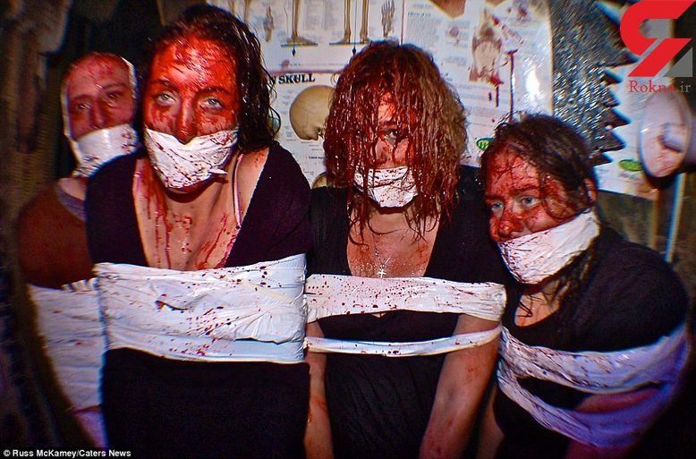 عکس های وحشتناک از یک تور مسافرتی به خانه ارواح + تصاویر