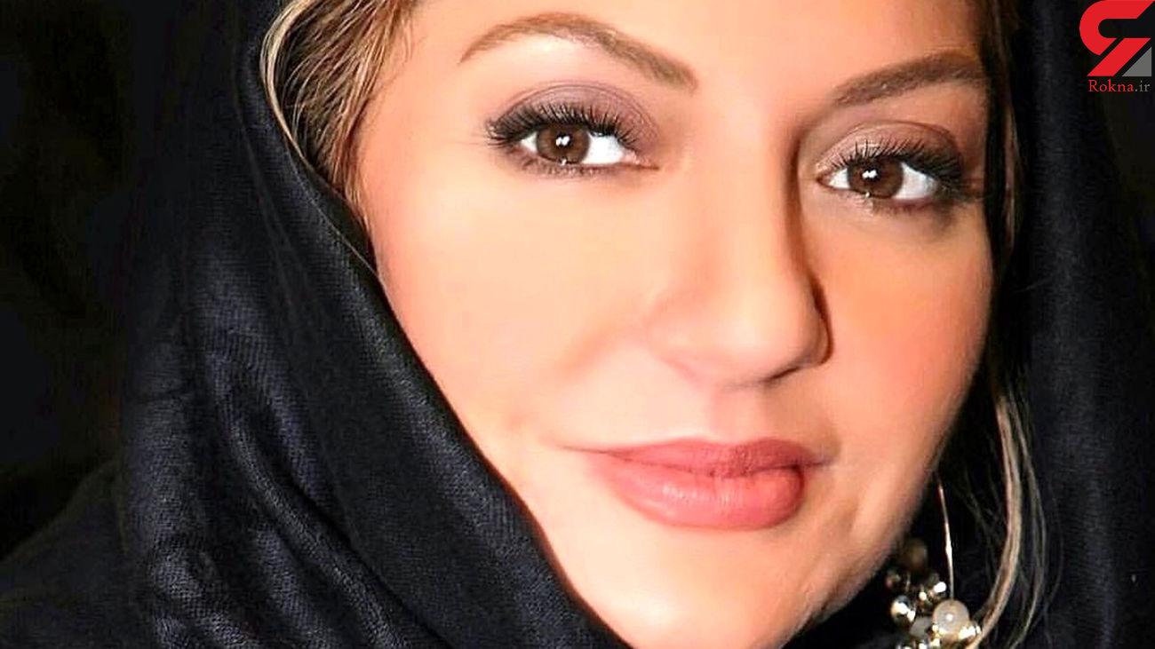 عکس مهناز افشار با دامن توری / سبد نان به جای حجاب