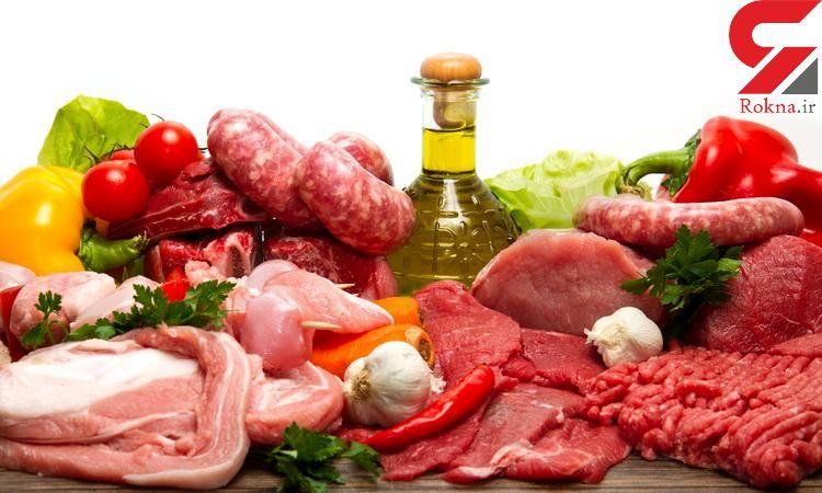 دستورالعمل  نگهداری انواع گوشت ها در یخچال