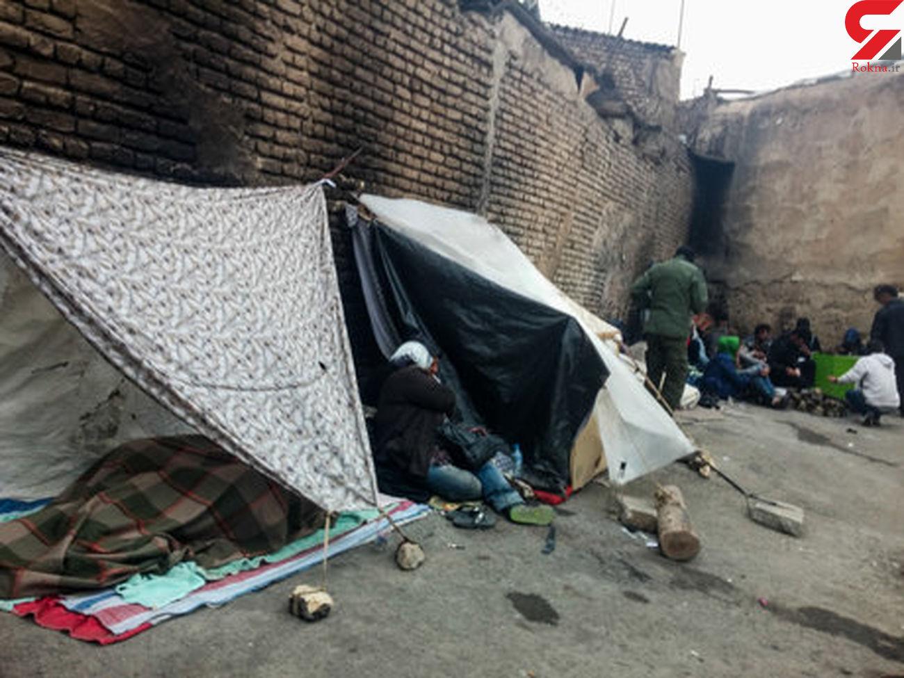 سقوط کودکان فقیر در سیاه چاله های هرندی! / جولان کارتل های بزرگ موادمخدر در تهران + فیلم
