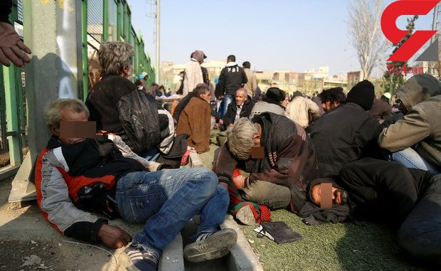 دستگیری ۳۵ معتادان متجاهر در تویسرکان