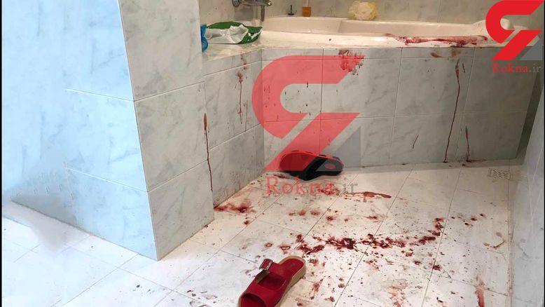 عکس اختصاصی / صحنه قتل میترا نجفی در وان خونین / 16+