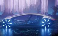 معرفی مرسدس بنز ویژن AVTR، خودرویی عجیب برای دنیای آینده