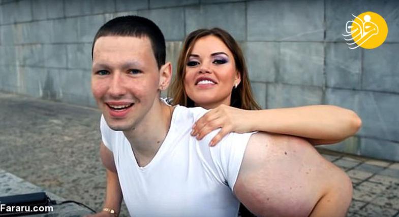 ملوان زبل روسیه با بازوهای غیرمتعارف+عکس