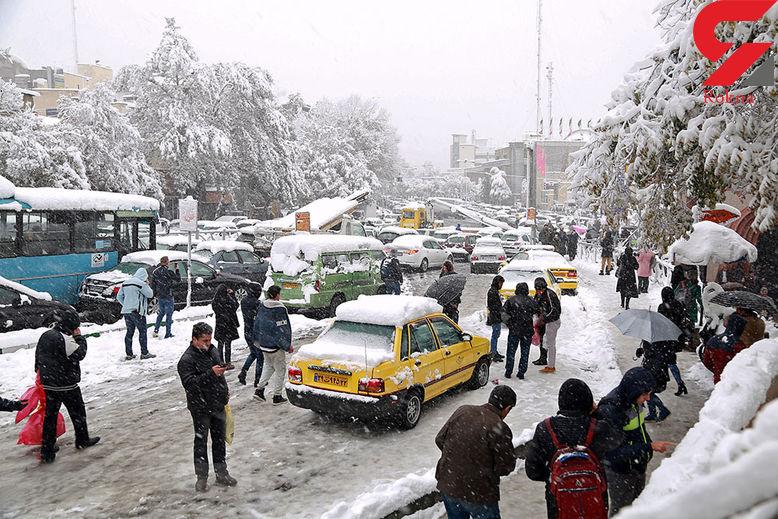 برف مهمان کدام استان های کشور می شود؟ + فیلم