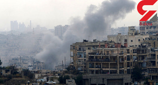 حملات موشکی شورشیان سوری به محلههای مسکونی حلب