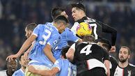 درگیری شدید بازیکنان یوونتوس در بازی دیشب + عکس