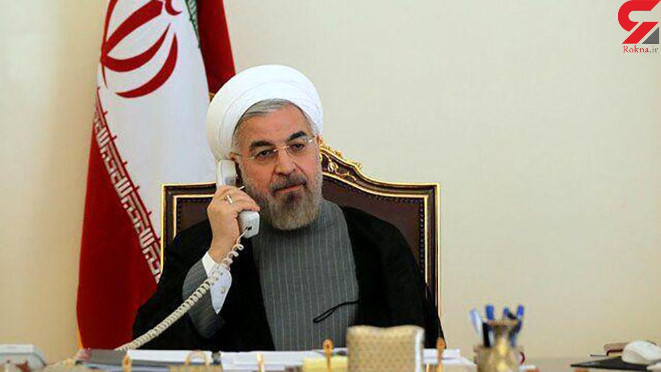 روحانی در گفتگوی تلفنی با امیر قطر: تهدید و تحریم اقتصادی ، مسیر غلطی در روابط دولتها است