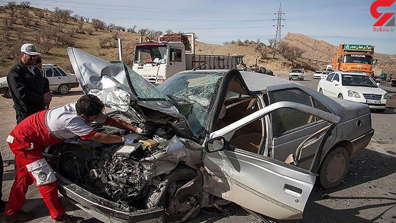 یک کشته و 2 مجروح در  واژگونی پژو پارس / در شیراز رخ داد