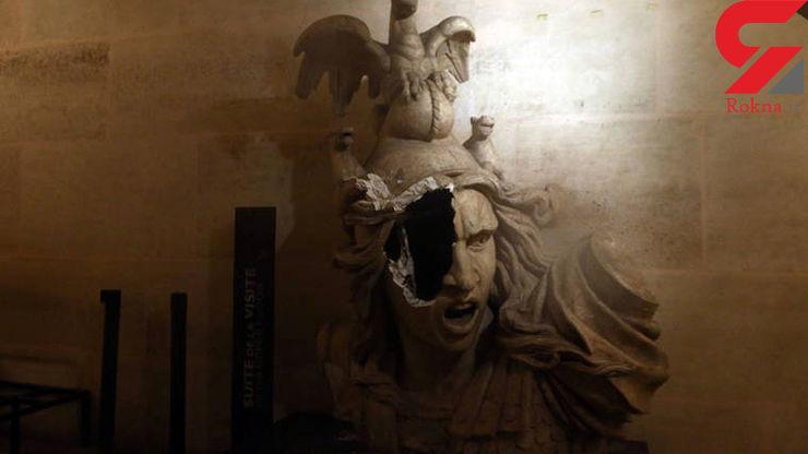 اعتراض فرانسویها چه بلایی بر سر موزههای شهر آورد؟ +تصاویر