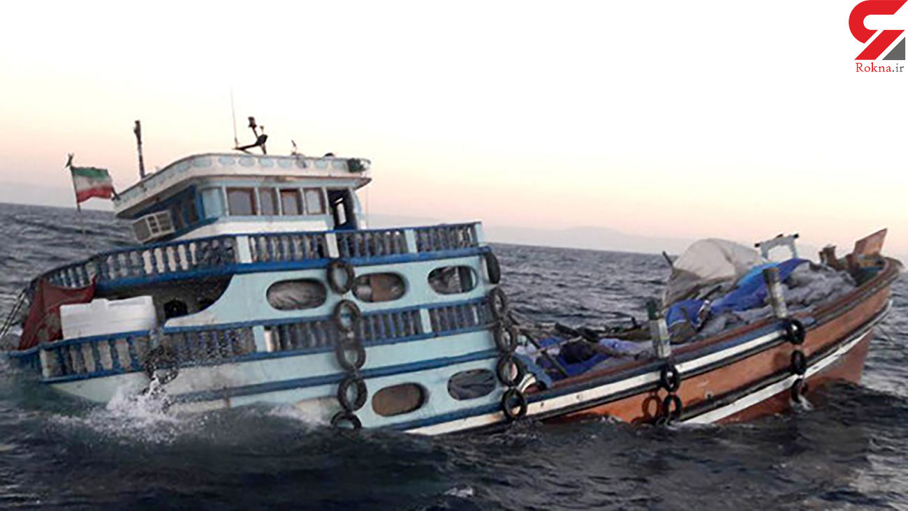 غرق شدن لنج باری  با 6 خدمه در مسیر دبی- گناوه