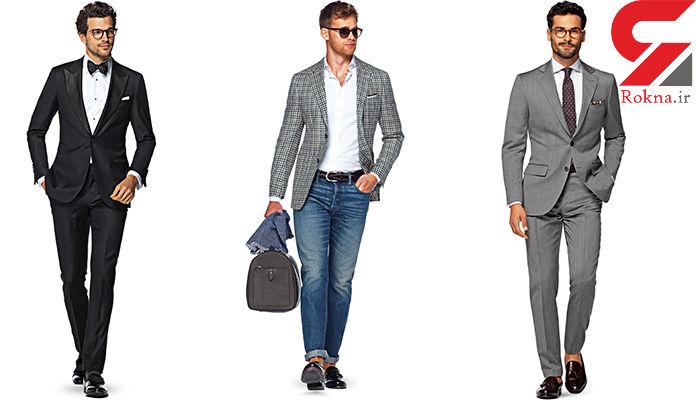 این لباس برای جذاب بودن مردان جادو می کند! + عکس