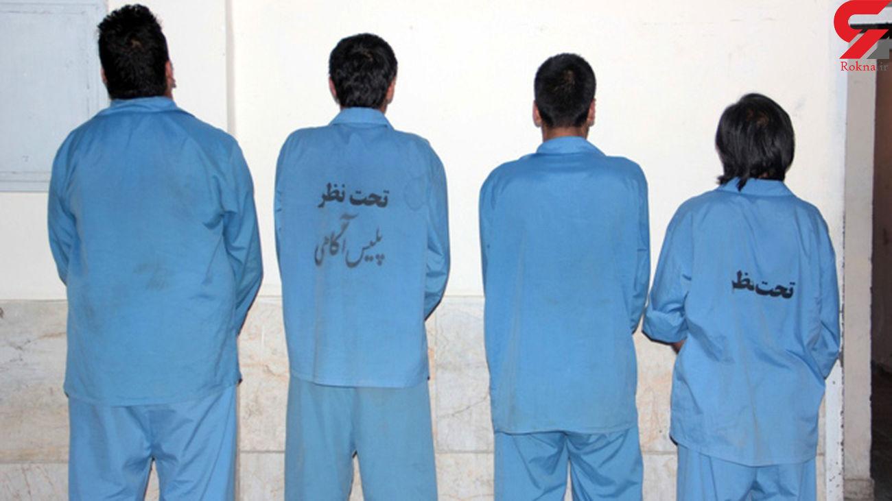 دستگیری سارق سابقه دار با 11 فقره سرقت در فراشبند