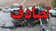 حادثه رانندگی در جاده بروجرد - اراک یک کشته و 10 مصدوم داشت