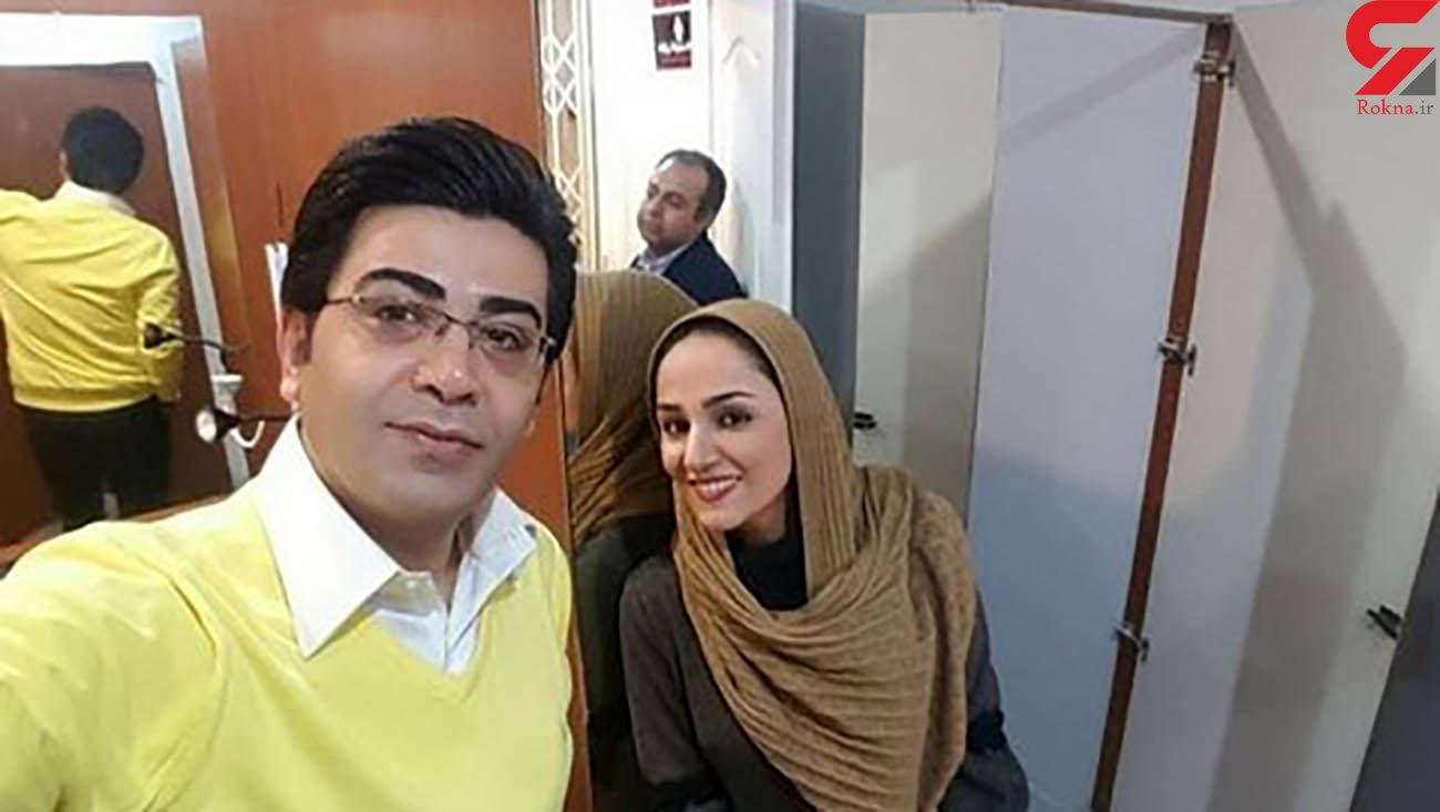 پیام تسلیت متفاوت  فرزاد حسنی به جان باختن خانم خبرنگار