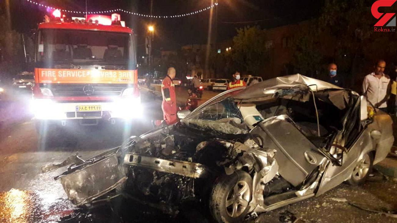 افزایش تعداد تصادفها در زمان نزدیک به افطار در اردبیل