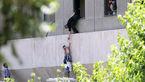 پسر بچه ای که در صحنه حمله تروریست ها به مجلس بود کیست؟+ عکس