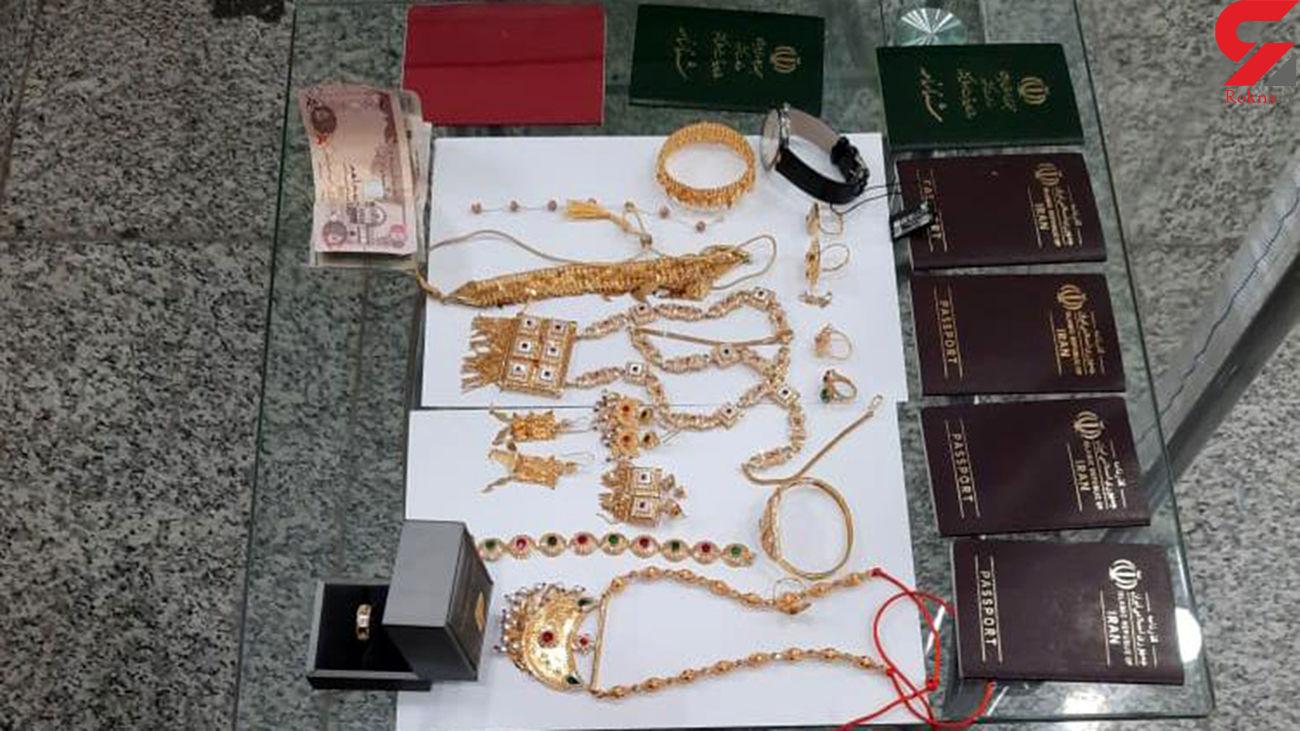 ماموران گمرک شیراز کیف حاوی پول و طلا را به صاحبش برگرداندند + عکس