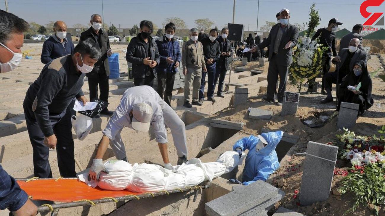 عکسهای تکاندهنده از بهشت زهرا (س) / اجساد از زمان جنگ هم بیشتر است !