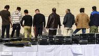 6 مرد غلط انداز صرافی های میدان فردوسی را خالی کردند ! + عکس