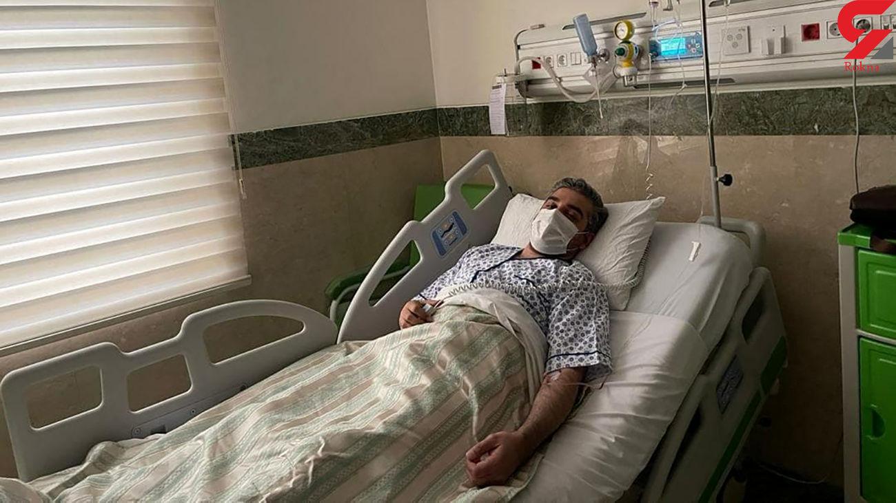 وخامت کرونای علی رضوانی خبرنگار بدون تعارف + عکس در بیمارستان