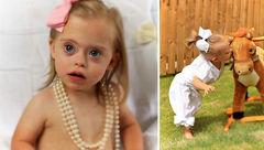 این دختر 23 ماهه بیمار پولدارترین مدلینگ است+تصاویر