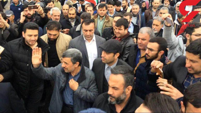 محمود احمدی نژاد روز 22 بهمن در اسلامشهر چه می کرد ؟+عکس