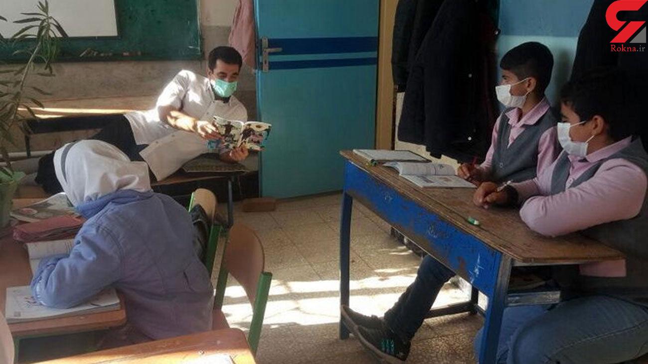 آقا معلم کرمانشاهی خسته نیست ! + عکس