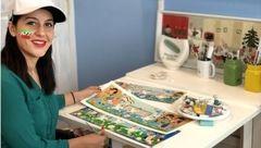 پیشنهاد فوتبالی Google به دختر نقاش ایرانی +عکس ها