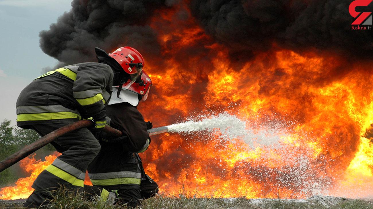 آتشسوزی مرگبار منزل مسکونی در مشهد با ۴ کشته و مجروح / مصدومیت یک آتشنشان