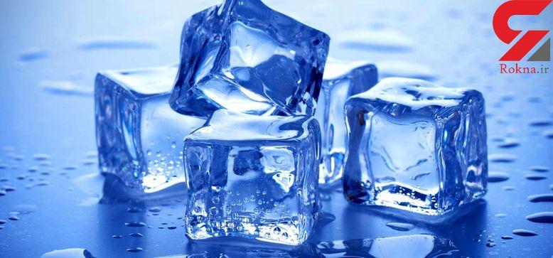 کاربرد یخ در نکات ریز خانه داری